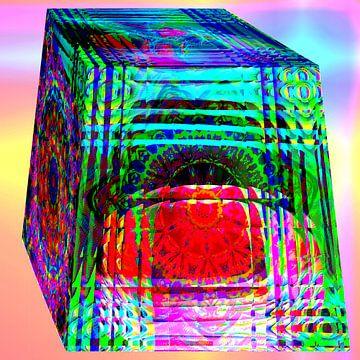 Glasklotz, gefüllt van Harry Ucksche