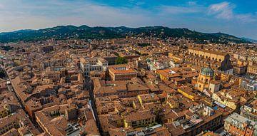 Skyline Bologna, Italië van Teun Ruijters