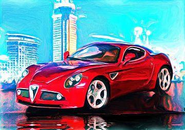 Cuore Sportivo - Alfa Romeo 8C Competizione van Jean-Louis Glineur alias DeVerviers