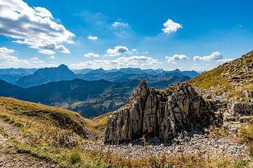 Panoramablick vom Hohen Ifen im Kleinwalsertal von MindScape Photography