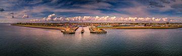 Oudeschild Texel panorama van Texel360Fotografie Richard Heerschap