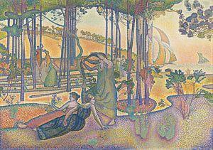 Die Abendluft, Henri-Edmond Cross