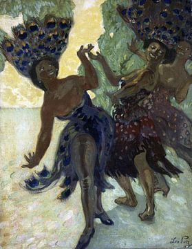 Afrikanische Frauen tanzen, LEO PUTZ, 1904 von Atelier Liesjes