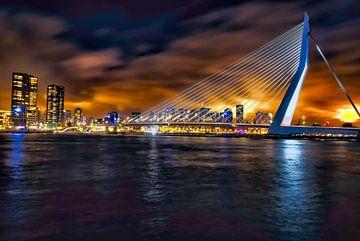 Rotterdam Erasmusbrug von Mehmet Karaman