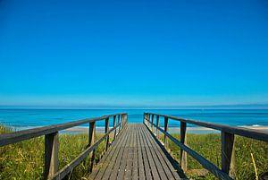 Sylt: De weg naar het strand