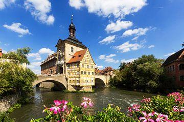 Oude Stadhuis Bamberg van Frank Herrmann