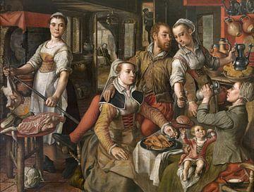 Allegorie der Unbesonnenheit, Joachim Beuckelaer