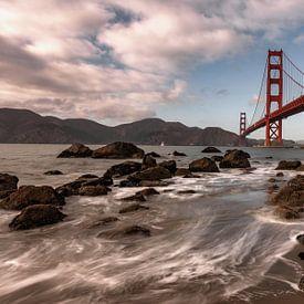 Golden Gate bridge* van Reinier Snijders
