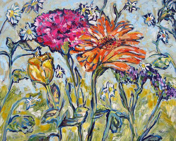 Flower Family van Eva van den Hamsvoort