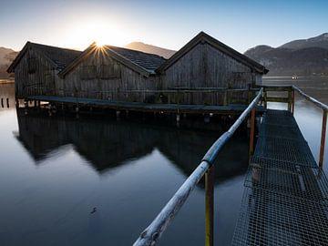 Sonnenaufgang am Kochelsee