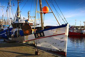 Dag van de vissersboothaven van Werner Reins