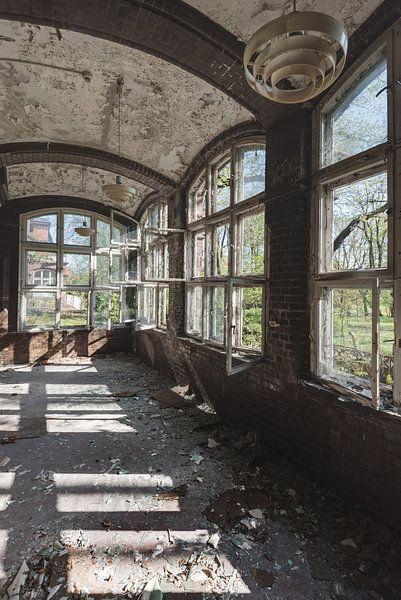 Fensterreflexion von Perry Wiertz