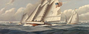Statue of Liberty Sailing von Nicholas Berger