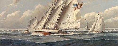Statue of Liberty Sailing
