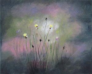 """Impressionistisch schilderij """"Wilde Leeuwentand"""" van"""