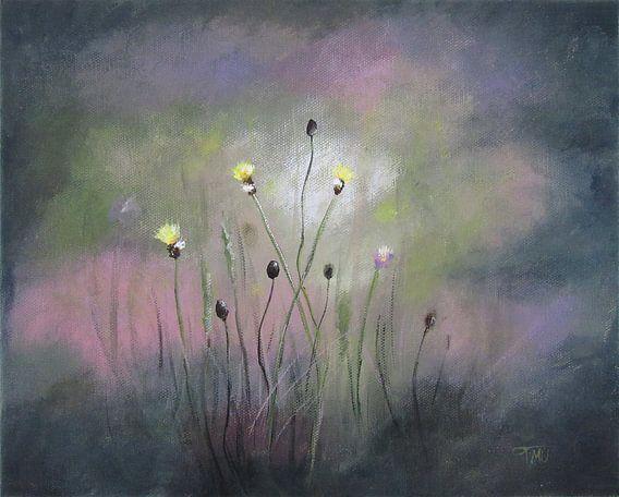"Impressionistisch schilderij ""Wilde Leeuwentand"" van Tanja Udelhofen"