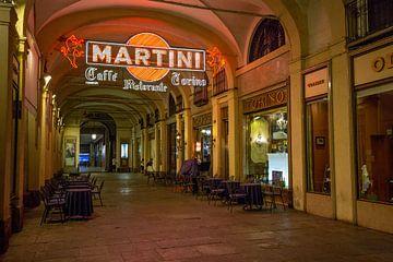 Cafe Restaurant Torino in centrum van Turijn in Italie van Joost Adriaanse
