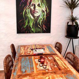Photo de nos clients: Brigitte Bardot Fashion Pop Art sur Felix von Altersheim