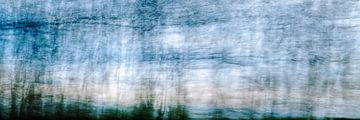 Wolken en landschap met in beweging van Saskia Nelissen