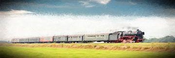 Dampflokomotive 01 1075 von eric van der eijk