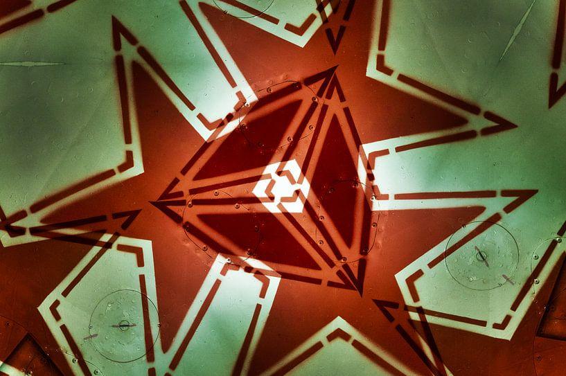 Russian red Star Mash-up 1 van Ernst van Voorst