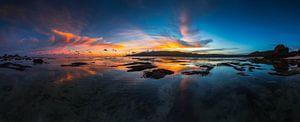 Kuta Lombok zonsondergang