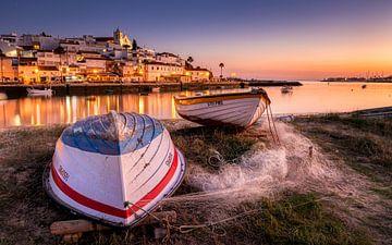 Fischerdorf Algarve von Adelheid Smitt