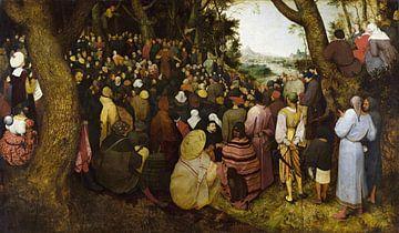 Die Predigt des Heiligen Johannes des Täufers, Pieter Bruegel der Ältere