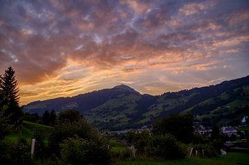 Brixen at sunset von Anita Meis