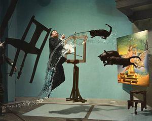 """Dali Atomicus"", Salvador Dali 1948 van Colourful History"