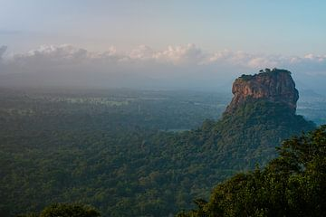 Lions Rock Sri Lanka van Laura