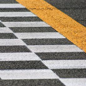 Monza finish line van Jeroen van Deel