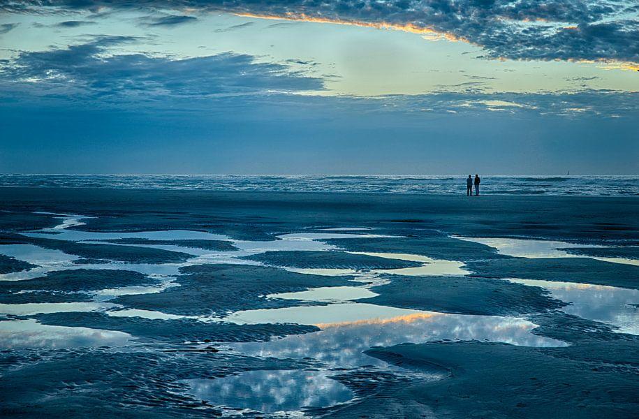 Wandeling na zonsondergang van Waterpieper Fotografie