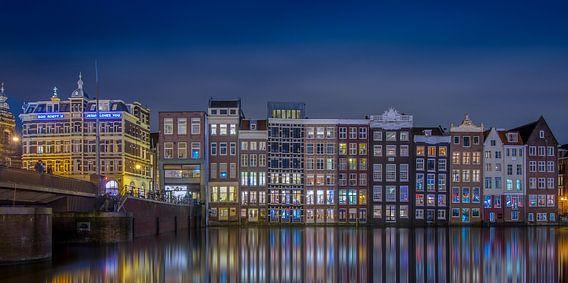 Damrak Amsterdam @ Night