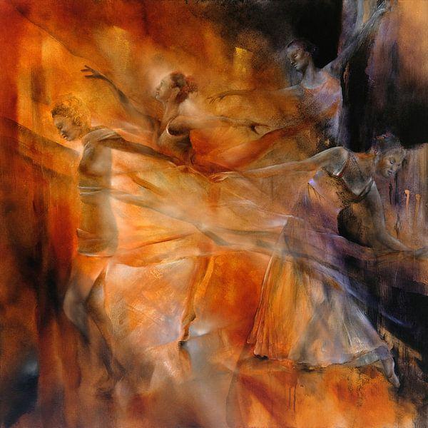 Balance - Vier Tänzerinnen van Annette Schmucker