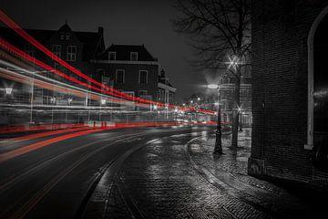 Red Lines Utrecht Janskerkhof  van John Ouwens
