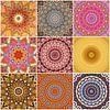 Mandala Collage van Bright Designs thumbnail