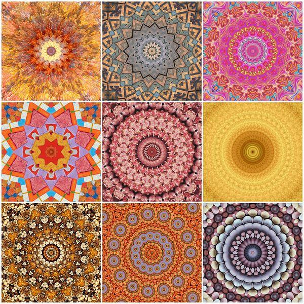 Mandala Collage van Bright Designs