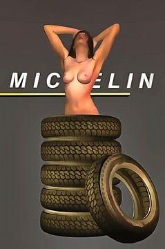 Pop Art – Michelin Tires van Jan Keteleer