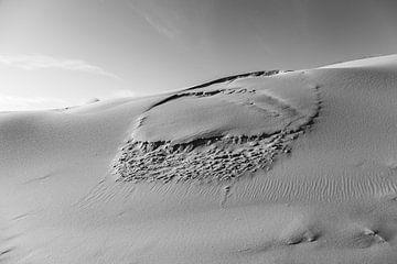 Zandverschuiving van DuFrank Images