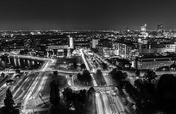 Rotterdam by Night - 's Gravendijkwal / Maastunnel van