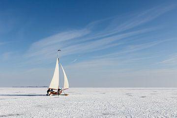Ice sailing sur Bart van Dinten