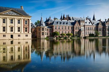 Bâtiments du gouvernement sur le Hofvijver à La Haye sur gaps photography