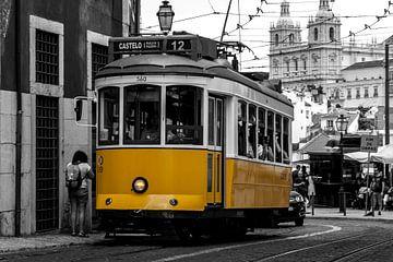 Tram 12, Lissabon von Stephan Neven