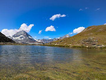 Riffelsee uitizicht op Matterhorn van Marieke Funke