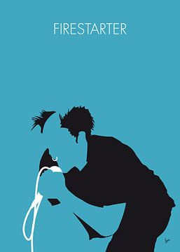 No045 MY The Prodigy Minimal Music poster sur Chungkong Art