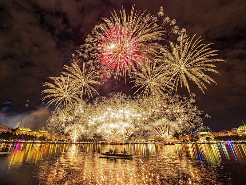 2017-09-01 Feuerwerk vom Alstervergnügen von Joachim Fischer