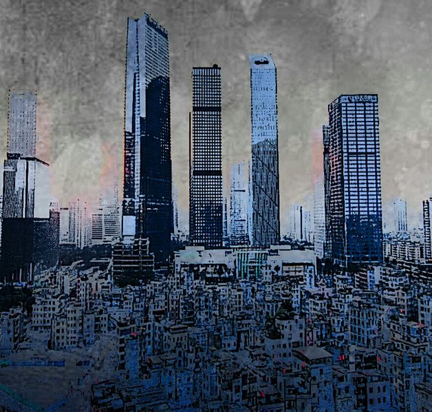 NEW YORK CITY van KUNST ART
