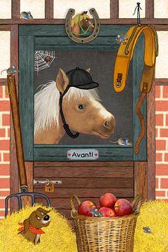 Mijn grappige paard Avanti van Marion Krätschmer