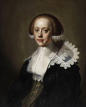 Portret van een jonge vrouw, Johannes Cornelisz. Verspronck